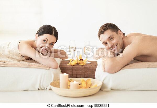 spa, couple - csp18838881