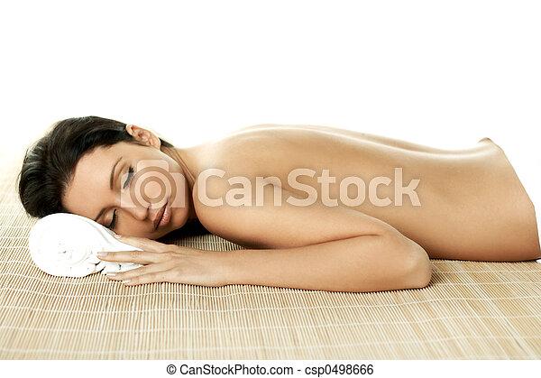 spa, délassant - csp0498666