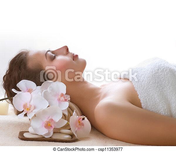 spa, femme - csp11353977