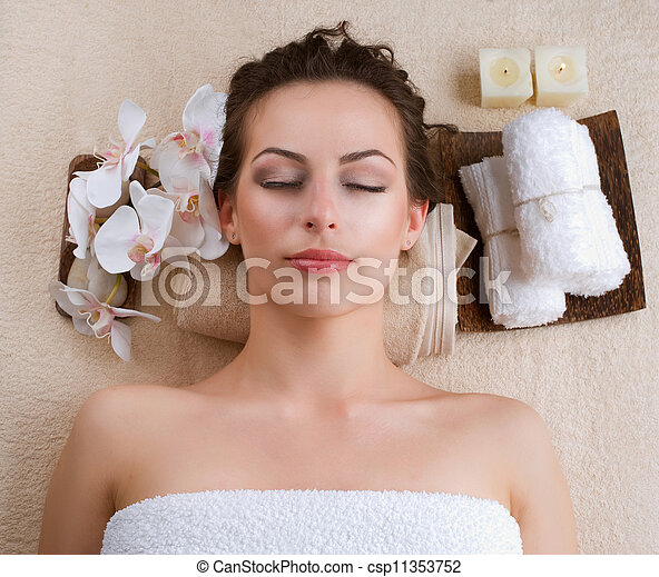 spa, femme - csp11353752