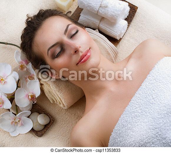spa, femme - csp11353833