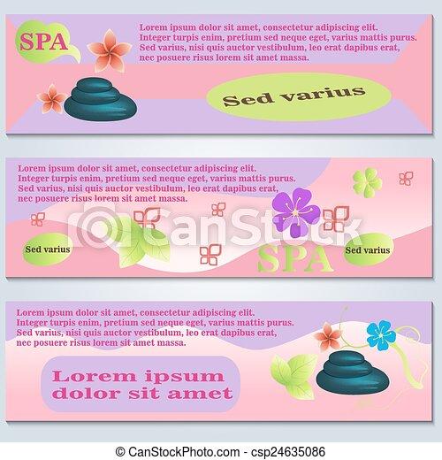spa flyer template vector illustration graphic design editable