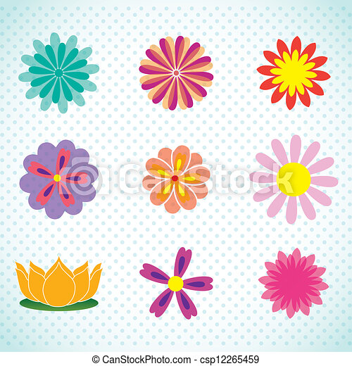 Spa Icons  - csp12265459