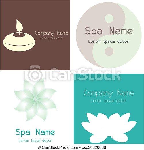 Spa icons - csp30320838
