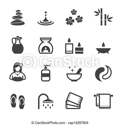 Spa Icons - csp14297604