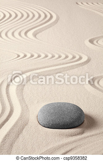 spa, méditation, équilibre, zen, harmonie - csp9358382