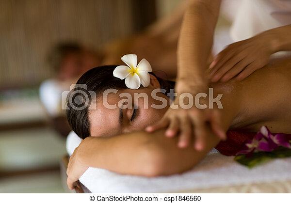 spa, masage - csp1846560