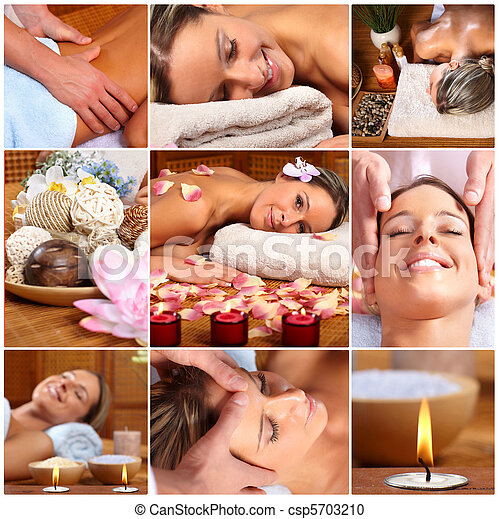 spa, masage - csp5703210