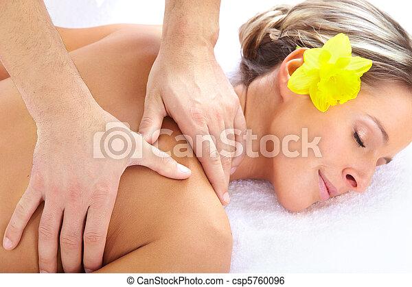 spa, masage - csp5760096