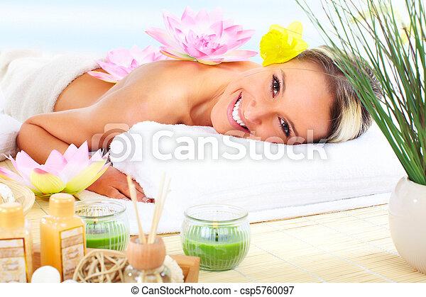 spa, masage - csp5760097