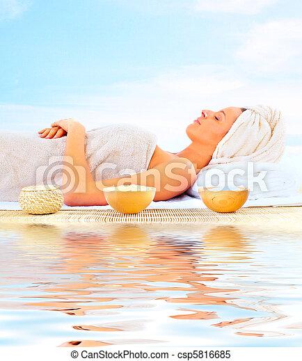 spa, masage - csp5816685