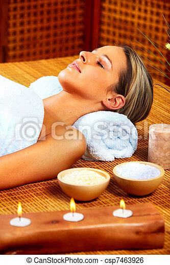spa, massage. - csp7463926