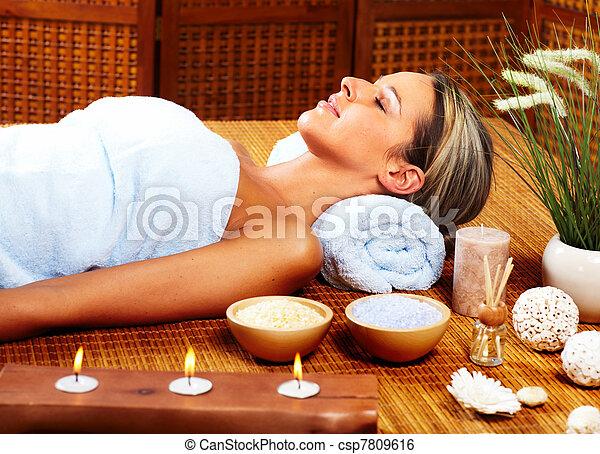spa, massage. - csp7809616
