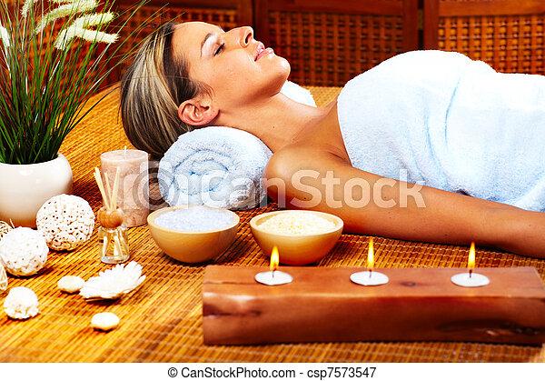 spa, massage. - csp7573547
