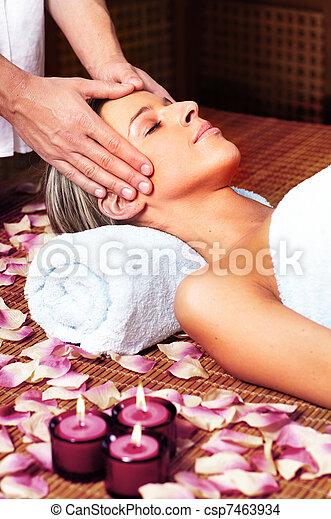 spa, massage. - csp7463934