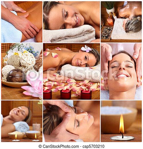 spa massage - csp5703210