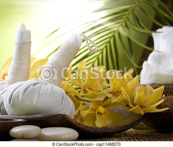 spa, massagem - csp11468270