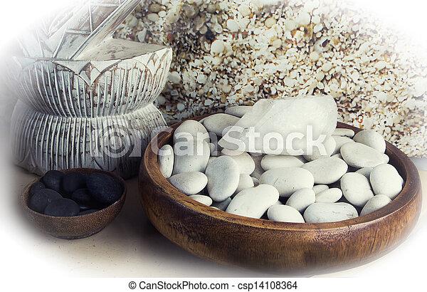 spa., pierre, masage - csp14108364