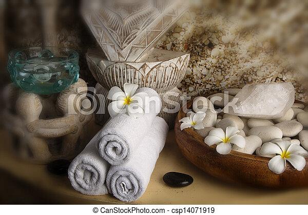 spa., pierre, masage - csp14071919