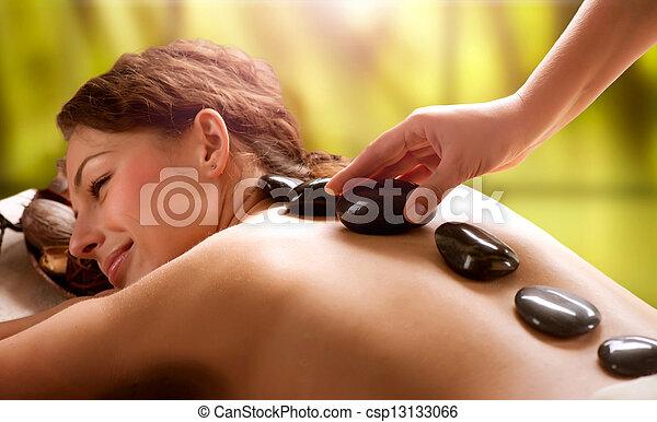 spa, pierre, salon., dayspa, massage. - csp13133066