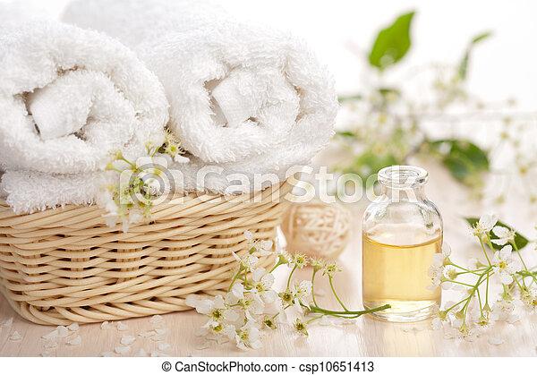 spa, set, aromatherapy - csp10651413