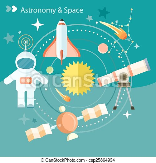 Space and astronomy - csp25864934
