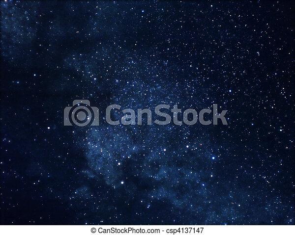 Space background - csp4137147