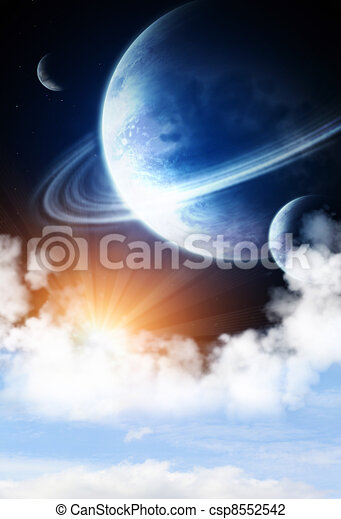 Space flare - csp8552542