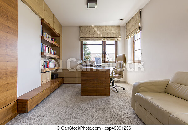 Space for working at home - csp43091256
