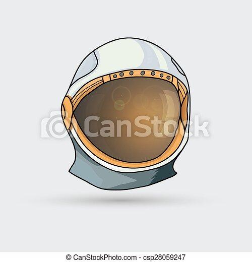 Space helmet - csp28059247