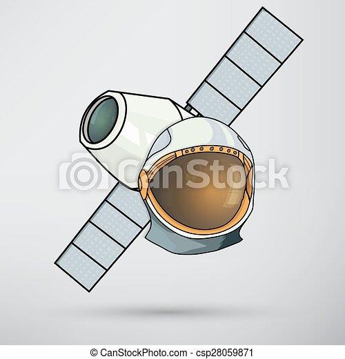 Space helmet - csp28059871