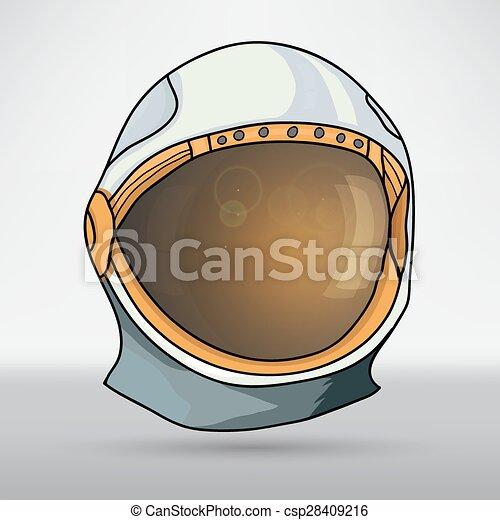 Space helmet - csp28409216