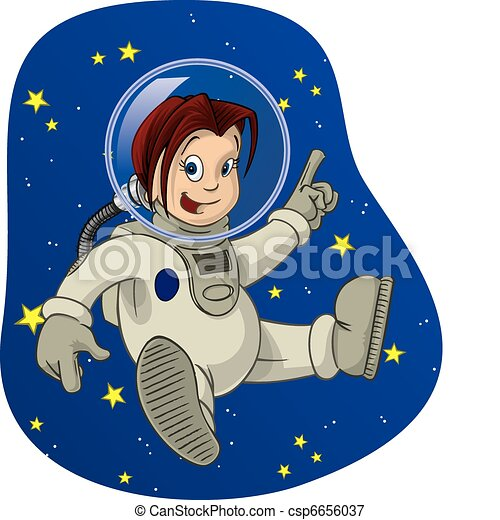 Space Kid #3 - csp6656037