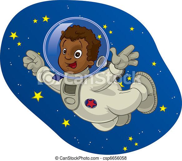Space Kid #4 - csp6656058