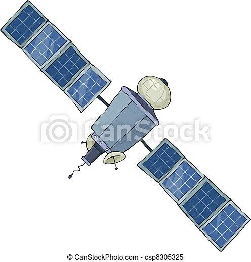 Space satellite - csp8305325