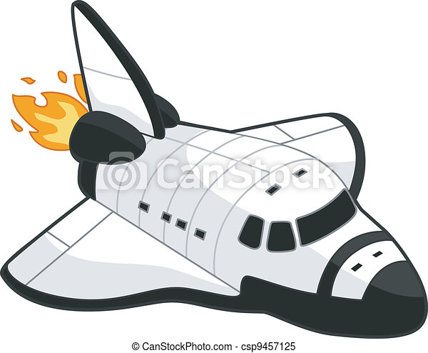 illustration of a space shuttle rh canstockphoto com space shuttle launch clip art space shuttle clip art free