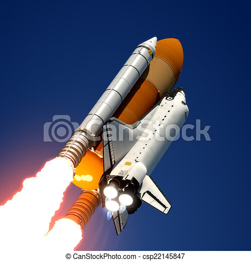 Space Shuttle Launch - csp22145847
