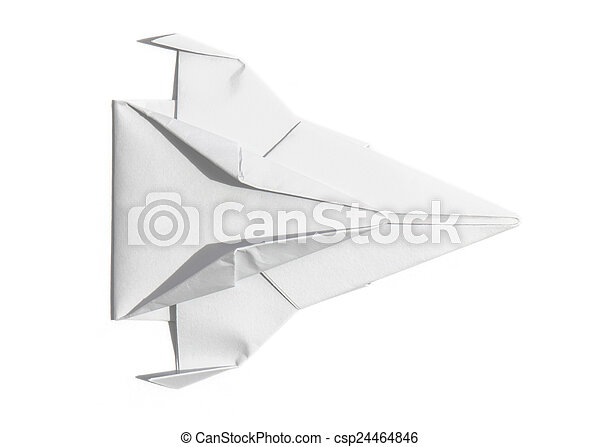 Spaceship Of Paper Overhead View Overhead View Of A Nice Origami