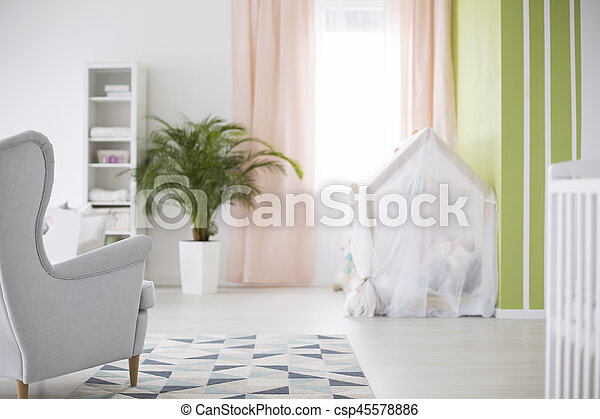 Spacious baby room - csp45578886