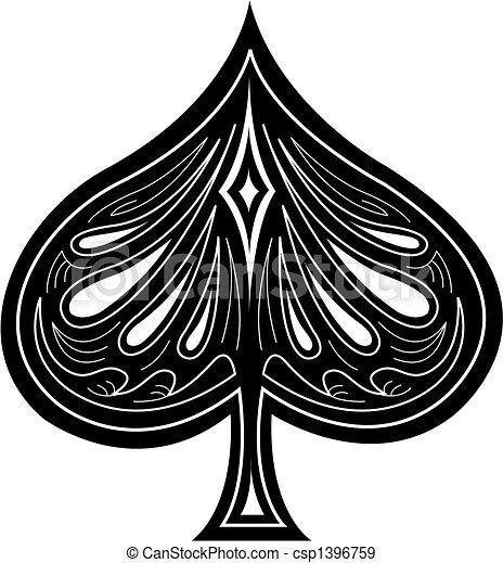 Spade Clip Art - csp1396759