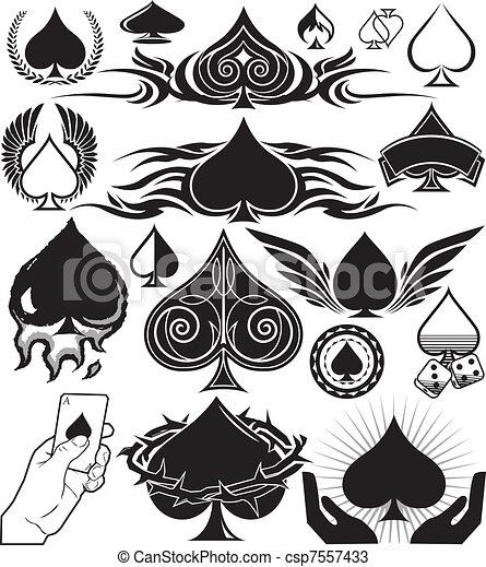 Spade Collection - csp7557433