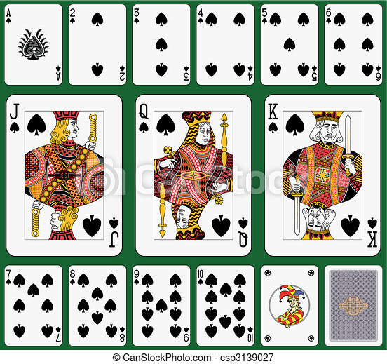 Spade suit - csp3139027