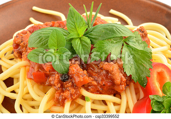 Spaghetti Bolognese 4 - csp33399552