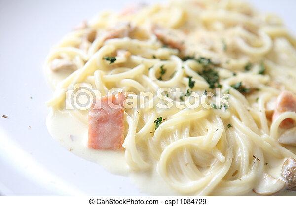 Beste Spaghetti white sauce with salmon. YR-57