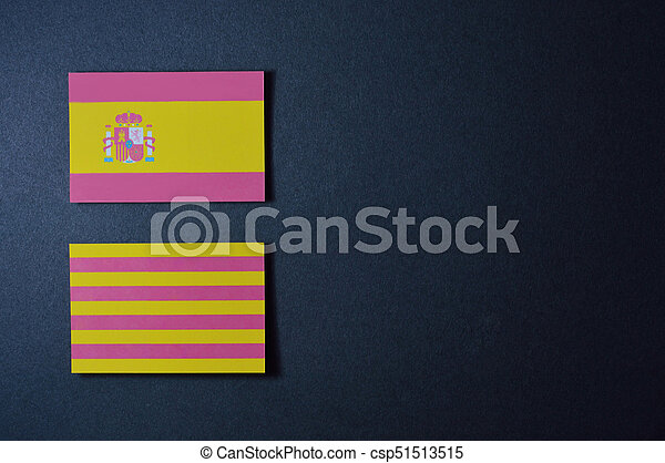 spain and catalonia flag spain flags template for your politics
