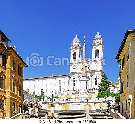 Spain's Square , Rome .Italy - csp10894560