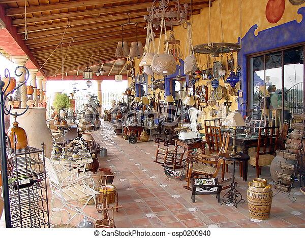 Spanish Antiques - csp0200940