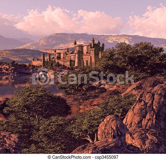 Spanish Castle - csp3455097