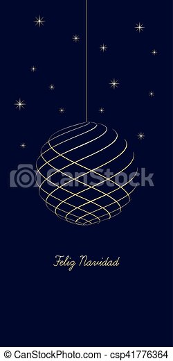 Spanish christmas greeting card spanish christmas clip art spanish christmas greeting card csp41776364 m4hsunfo