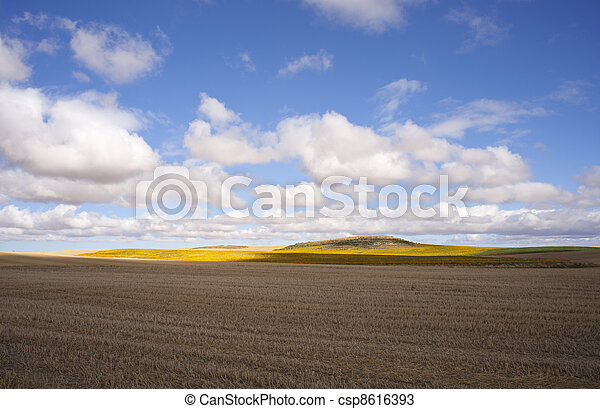 Spanish countryside - csp8616393